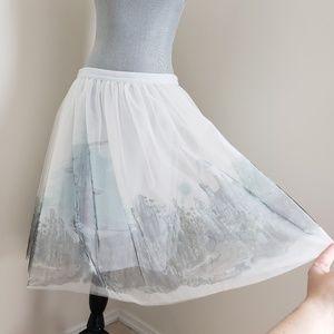 Disney Cinderella castle skirt Lauren Conrad tutu